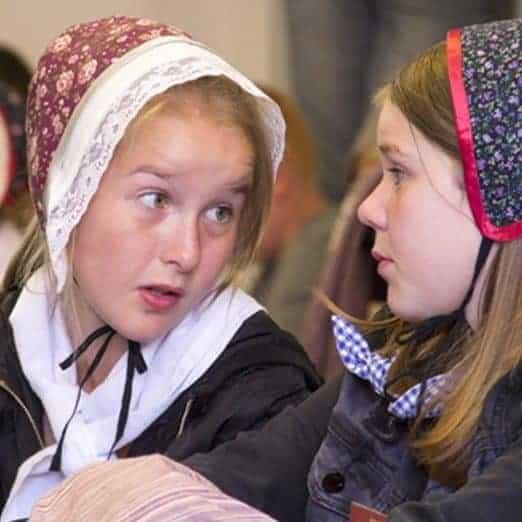 Undervisning Stavnsbaand Pigerne
