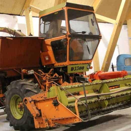 rundvisning om landbrugsmaskiner