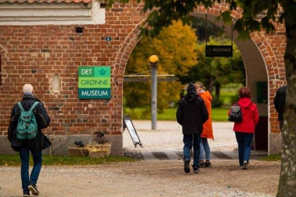 åbningstider det grønne museum