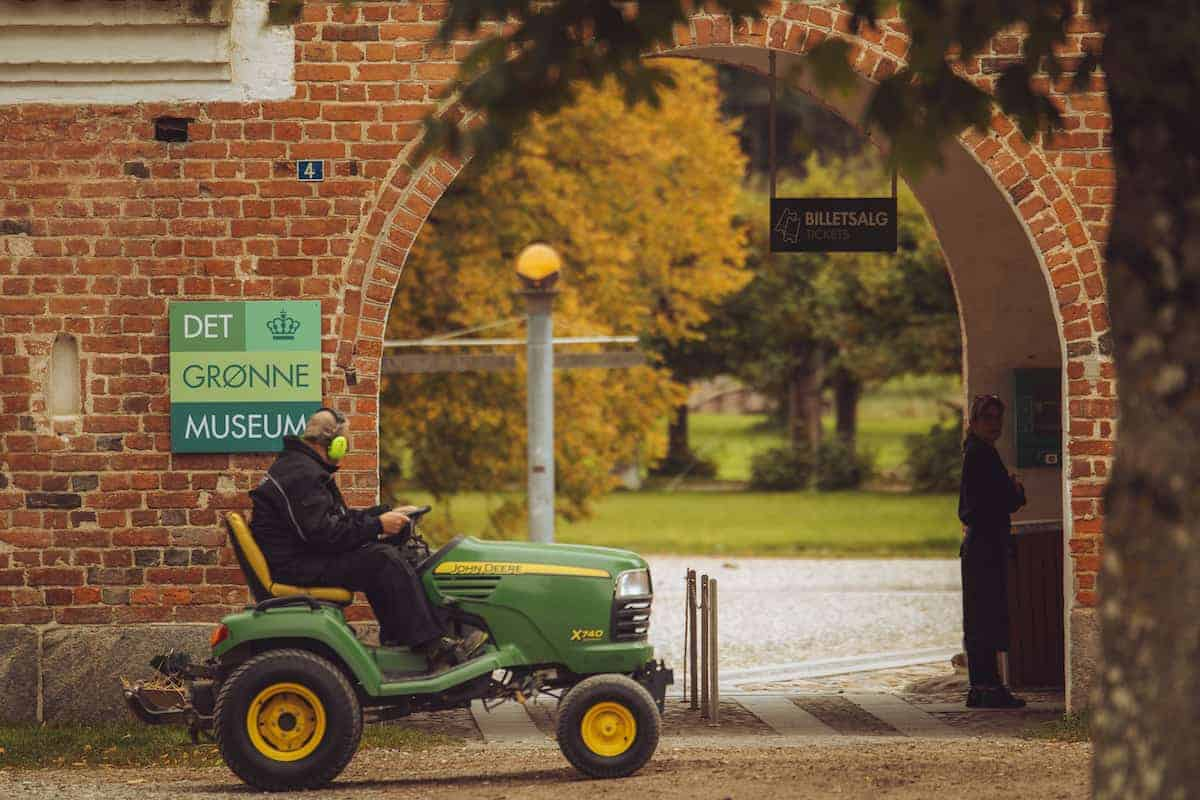 Indgangspartier til Det Grønne Museum, Gl. Estrup