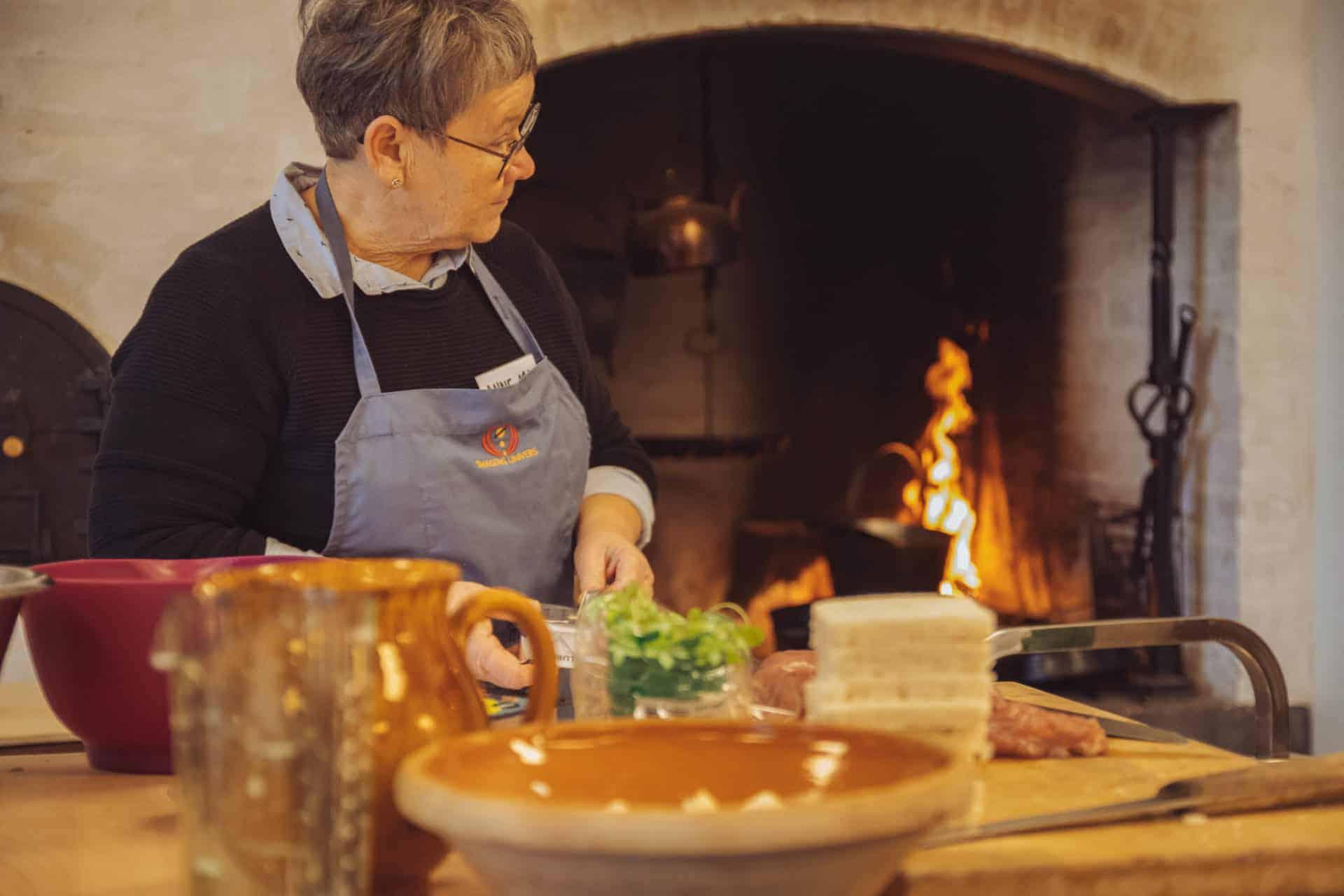 De frivillige i Madens Hus, Historisk køkken
