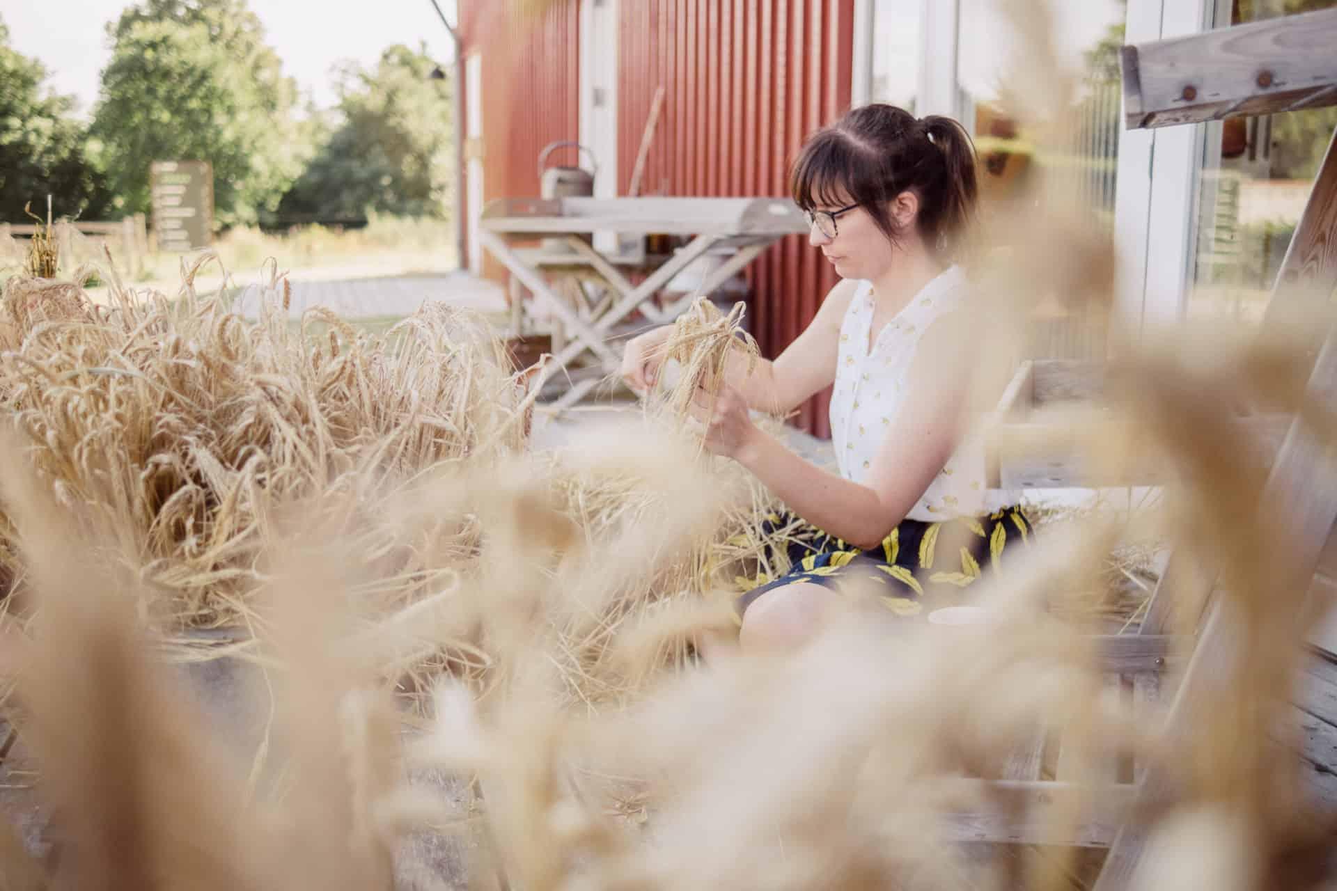 Smag på korn i Madens Hus