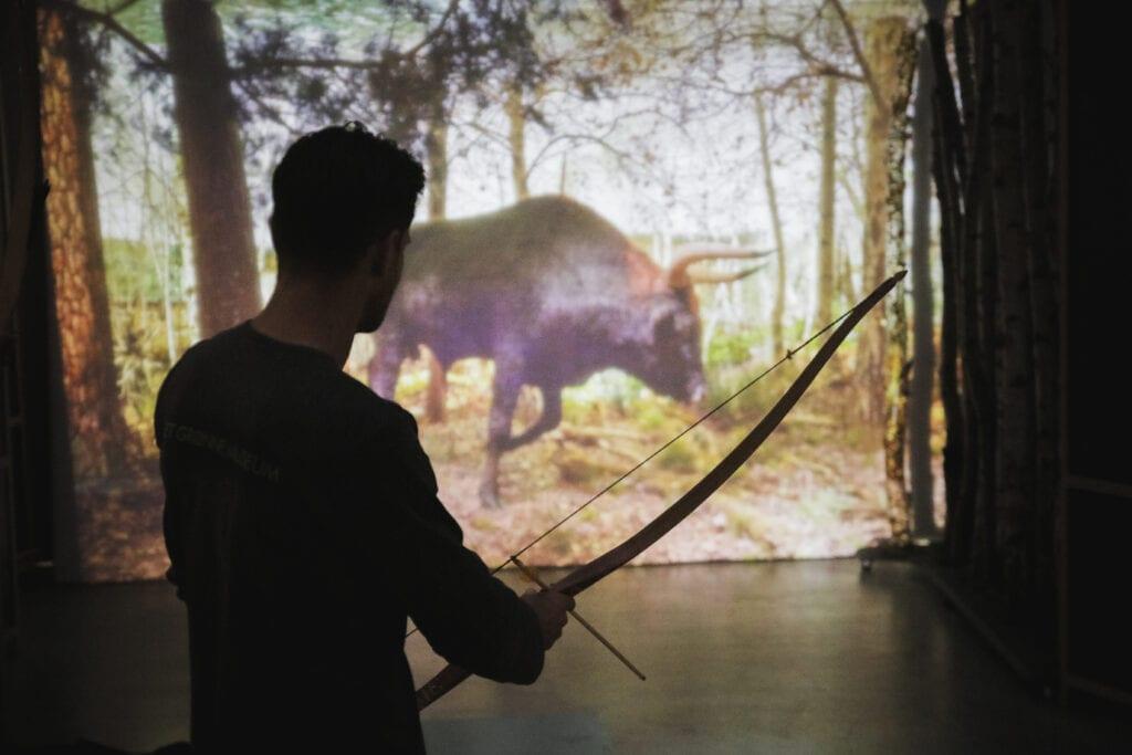 Skyd en urokse i sommerferien på Det Grønne Museum